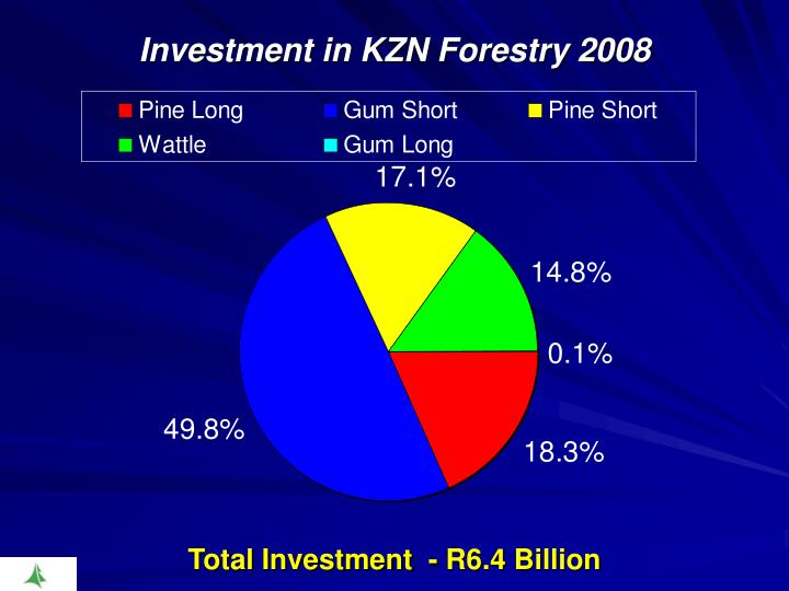 Investment in KZN Forestry 2008