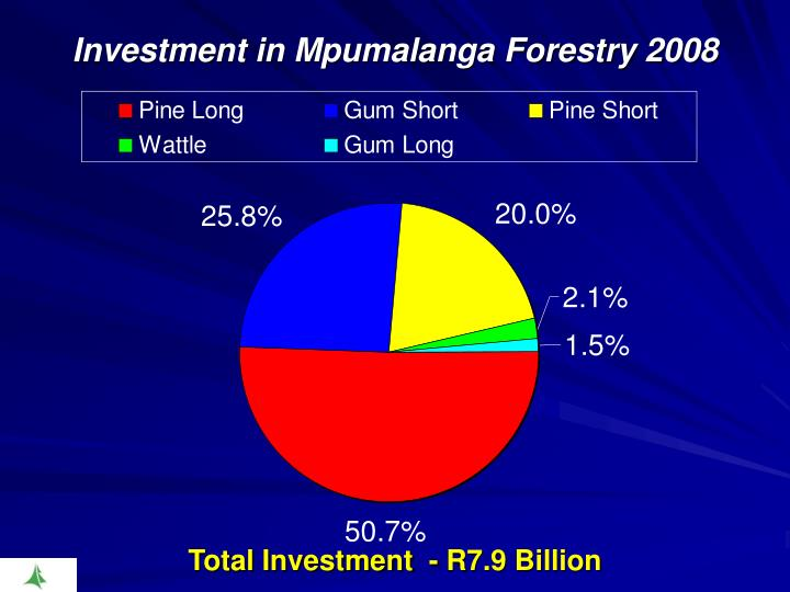 Investment in Mpumalanga Forestry 2008
