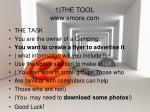 1 the tool www smore com