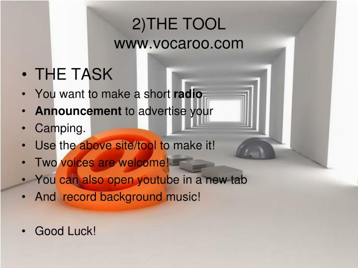 2 the tool www vocaroo com