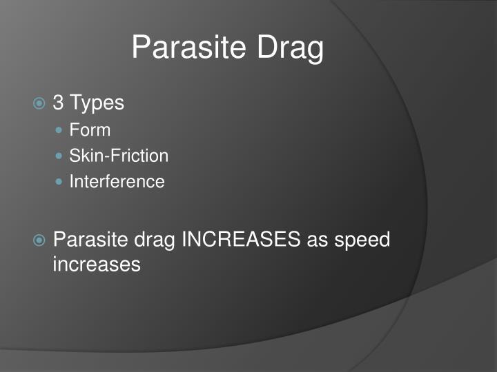 Parasite Drag