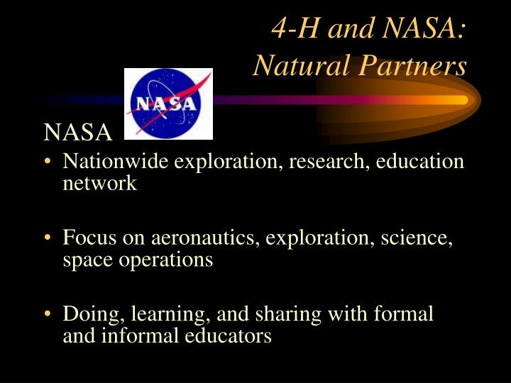 4 h and nasa natural partners1