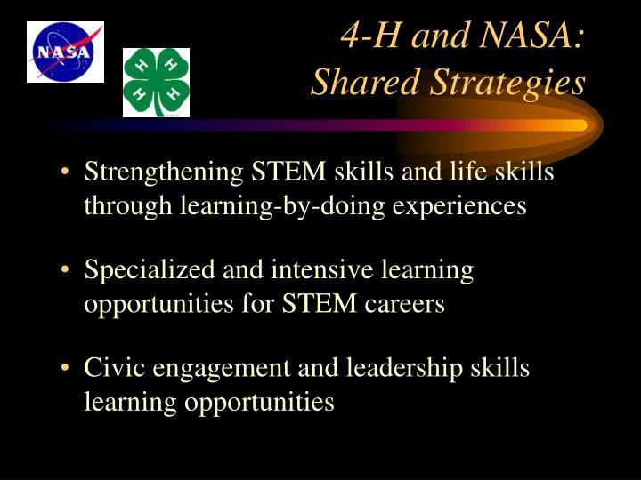 4-H and NASA: