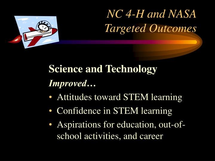 NC 4-H and NASA