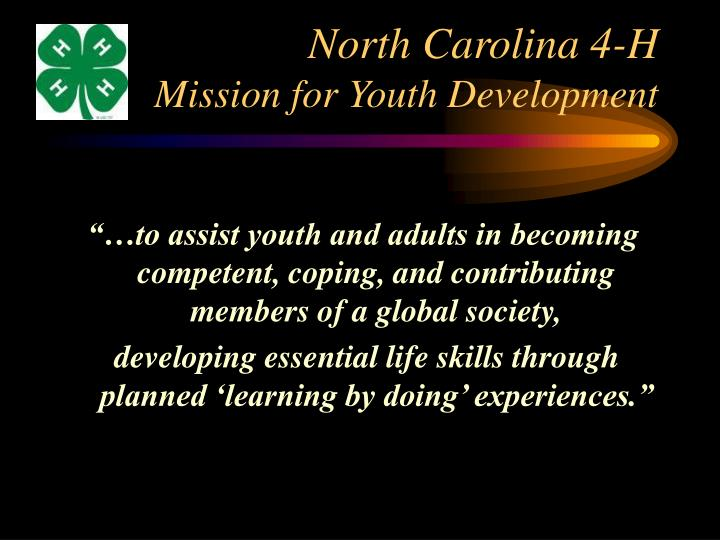 North Carolina 4-H