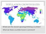 population growth rates1
