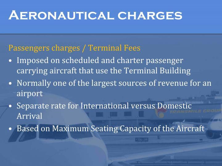 Aeronautical charges