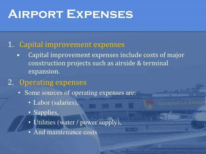 Airport Expenses