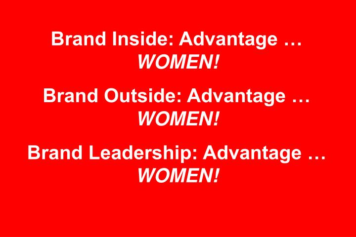 Brand Inside: Advantage …