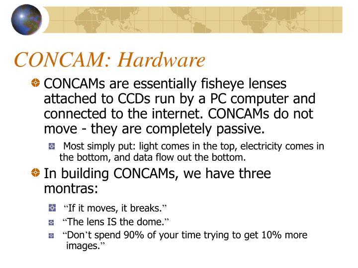 CONCAM: Hardware