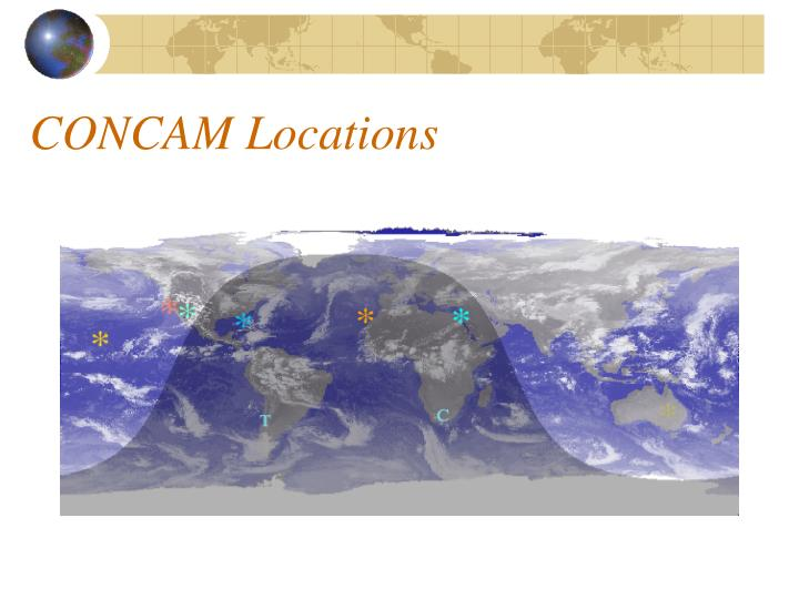 CONCAM Locations