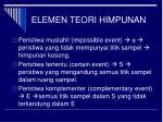 elemen teori himpunan1