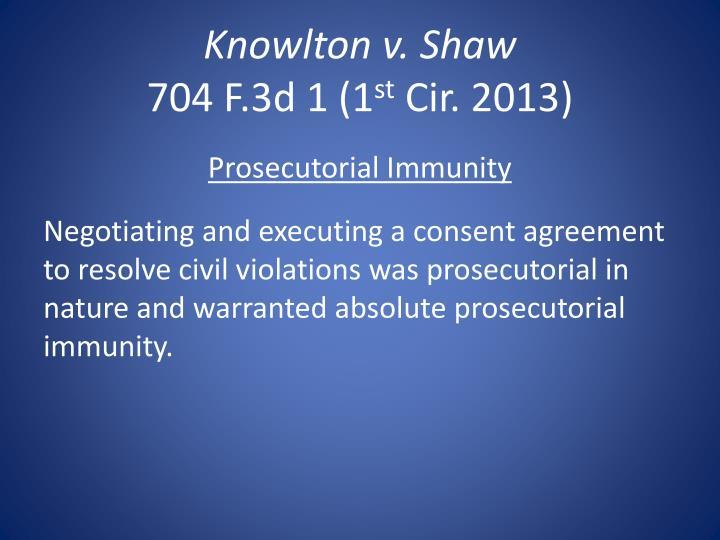 Knowlton v.