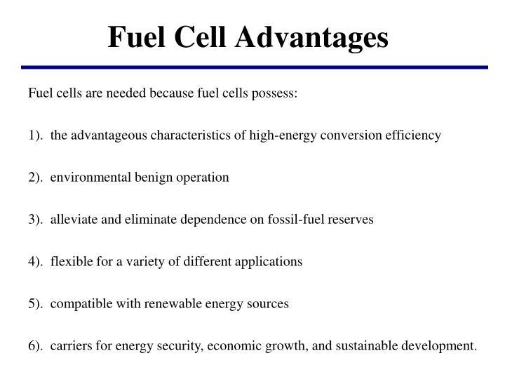 Fuel Cell Advantages