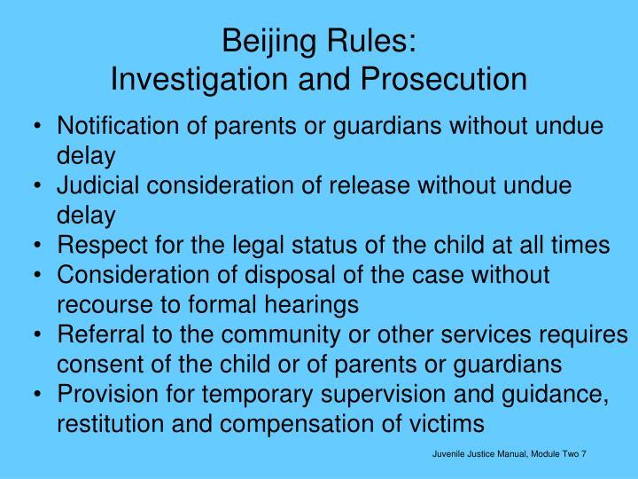 Beijing Rules: