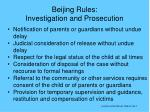 beijing rules investigation and prosecution