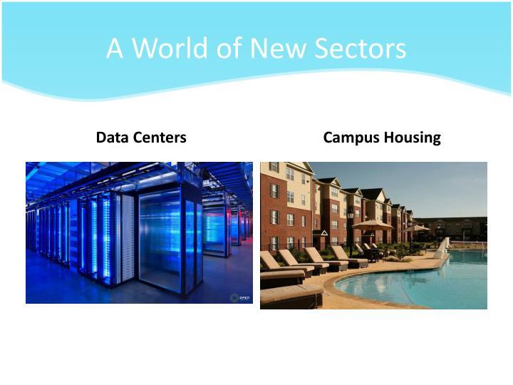 A World of New Sectors