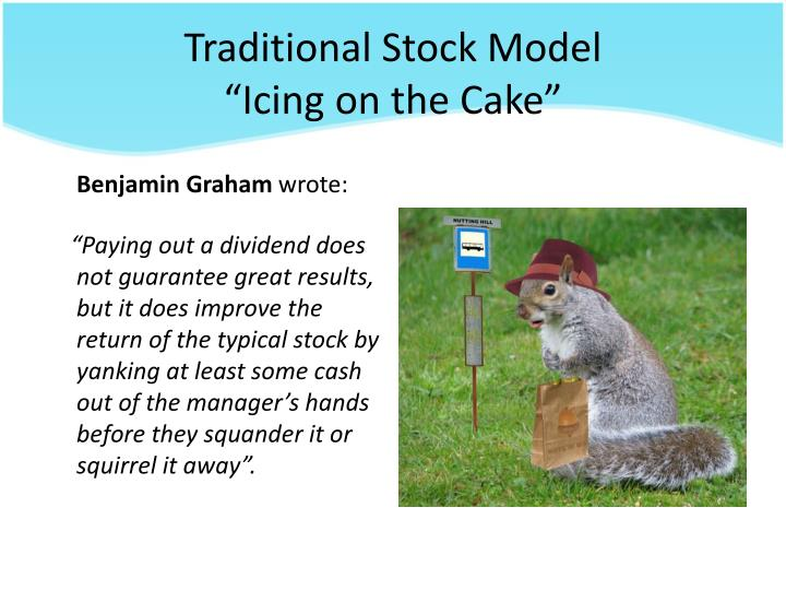 Traditional Stock Model
