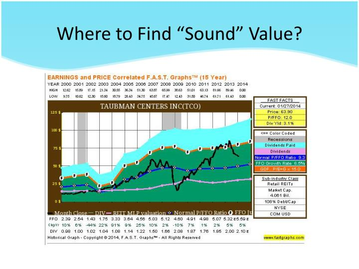 """Where to Find """"Sound"""" Value?"""