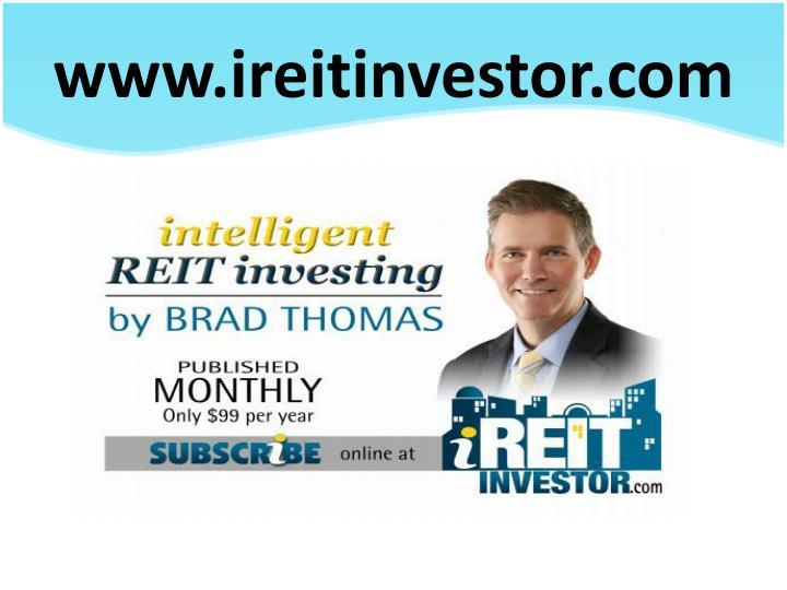 www.ireitinvestor.com