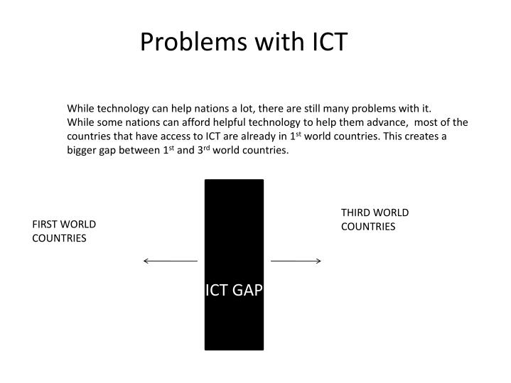Problems with ICT