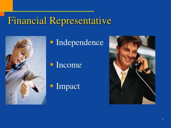 Financial Representative