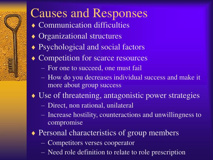 Causes and Responses