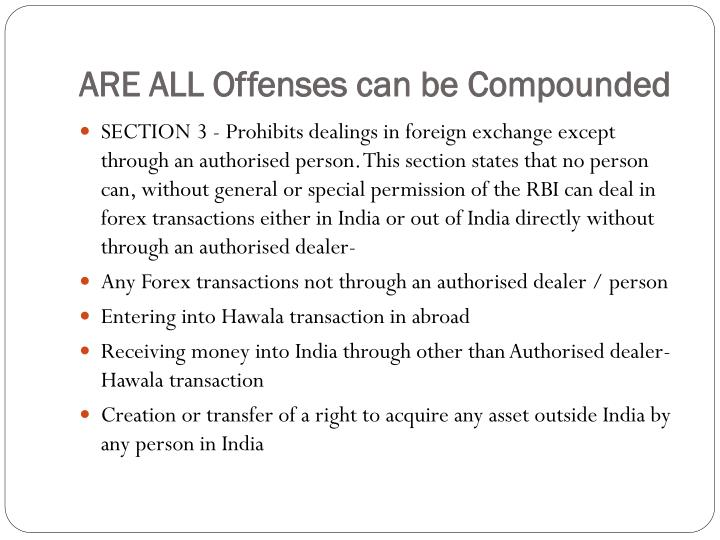 Are all offenses can be compounded