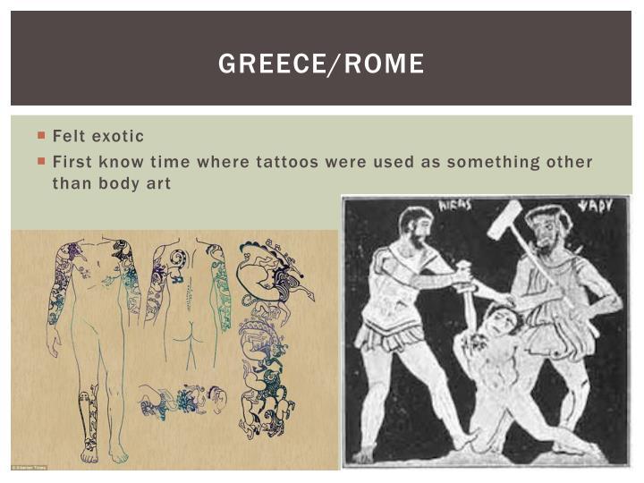 Greece/Rome