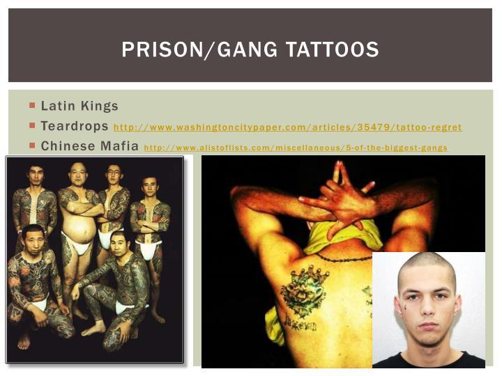 Prison/Gang Tattoos
