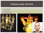 prison gang tattoos
