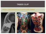 taboo clip