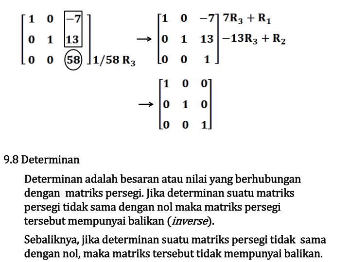 9.8 Determinan