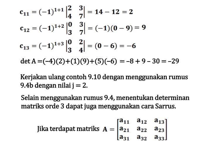 = –8 + 9 – 30 = –29