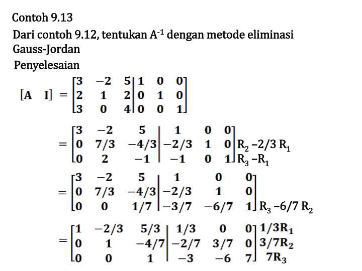 Contoh 9.13
