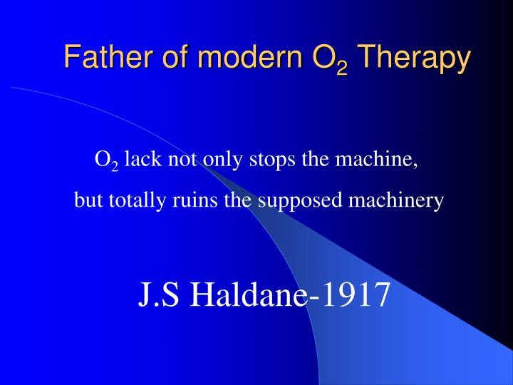 Father of modern O