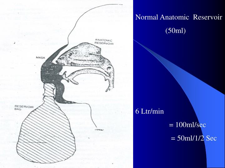 Normal Anatomic  Reservoir