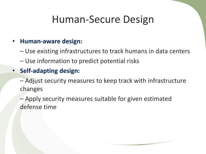 Human-Secure Design