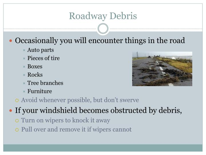 Roadway Debris