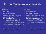 coxibs cardiovascular toxicity