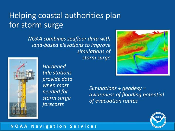 Helping coastal authorities plan
