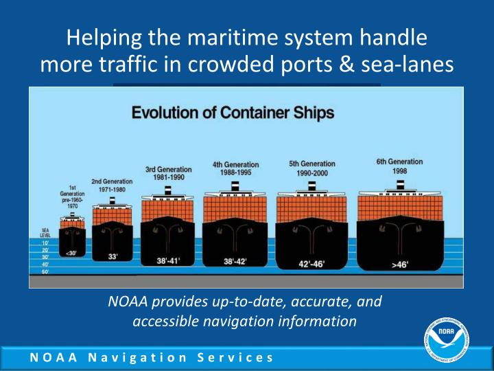 Helping the maritime system handle