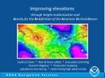 improving elevations