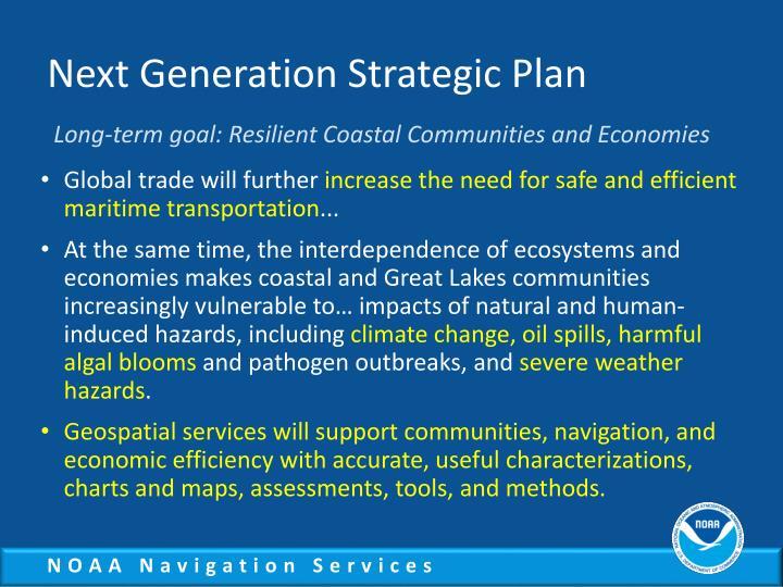 Next Generation Strategic Plan