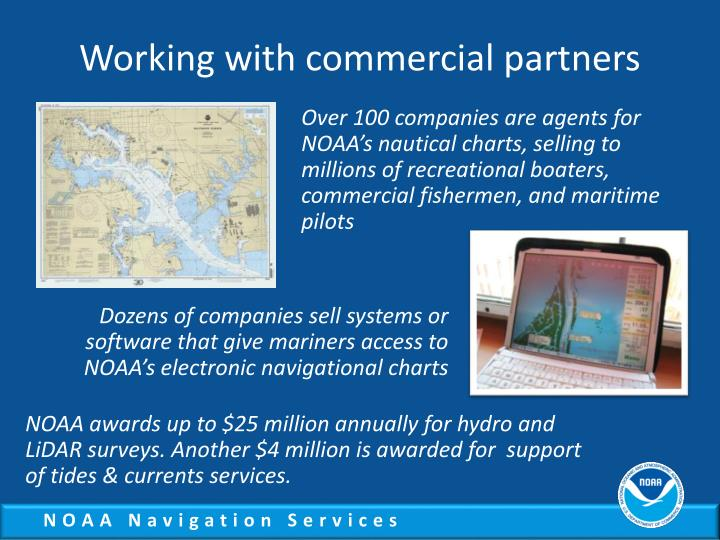 Working with commercial partners