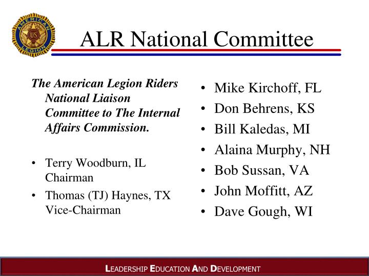 ALR National Committee