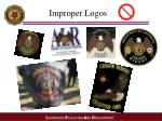 improper logos