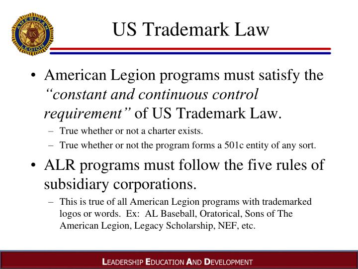 US Trademark Law