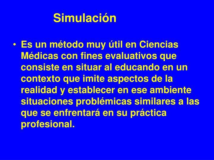 Simulación
