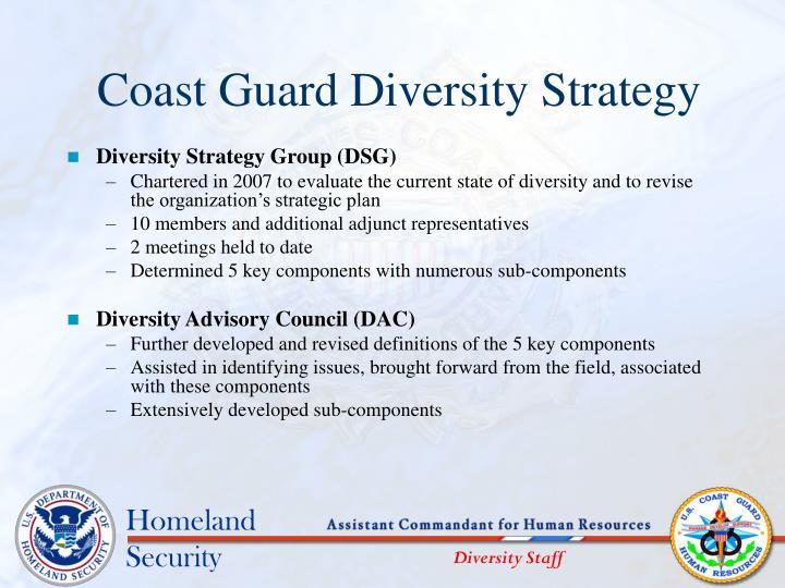 Coast Guard Diversity Strategy